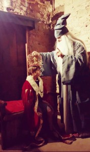 La cachette de Merlin - Arthur