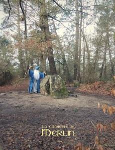 "Les vestiges d'un mégalithe furent nommés ""tombeau de Merlin"" en 1820"