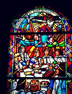 Les chevaliers de la table ronde - Eglise de Tréhorenteuc